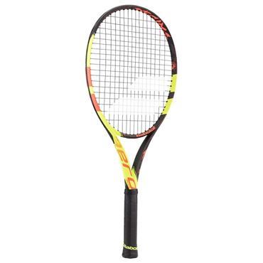 Babolat Junior Pure Aero Decima 26 Tennis Racket Black - Red - Yellow
