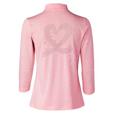 Daily Sports Wear Mindy ¾ Sleeve Polo Shirt Pink
