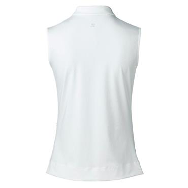 Daily Sports Ladies Wear Pammy Sleeveless Polo Shirt White