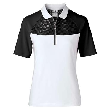 Daily Sports Wear Domia 1/2 Sleeve Polo Shirt Black