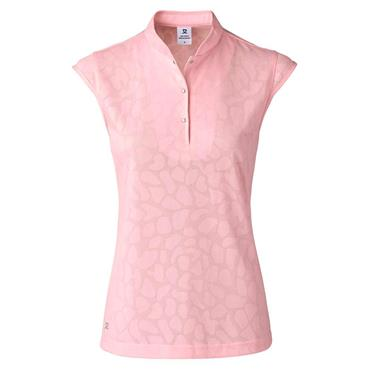 Daily Sports Ladies Wear Uma Cap Sleeve Polo Shirt Pink