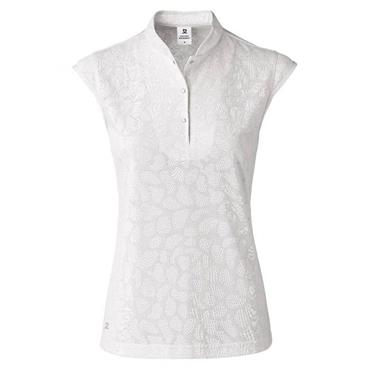 Daily Sports Ladies Wear Uma Cap Sleeve Polo Shirt White
