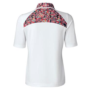 Daily Sports Ladies Wear Rickie ½ Sleeve Polo Shirt White