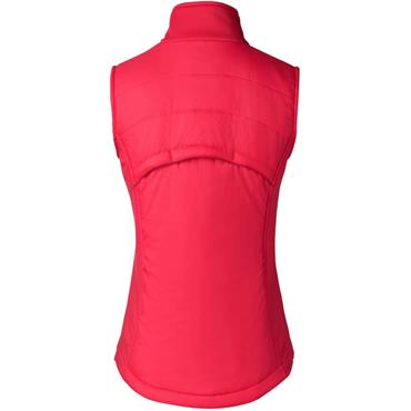 Ladies Wear Draw Vest Pink