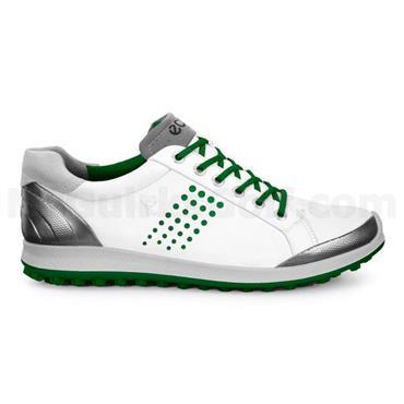 Ecco Gents Biom Hybrid 2 Shoes White - Green