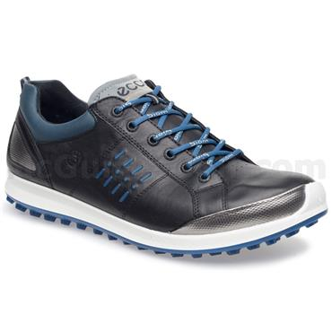 Ecco Gents BIOM Hybrid 2 Shoes Black - Royal Blue