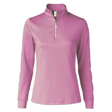 Daily Sports Ladies Wear Anna Long Sleeve ½ Neck Top Taffy