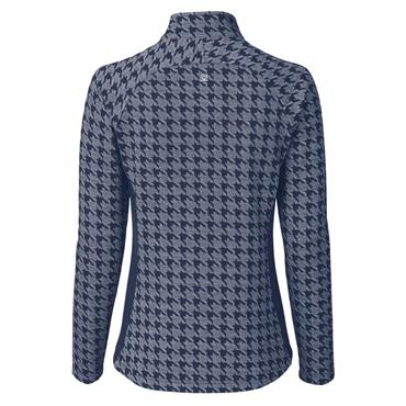 Daily Sports Ladies Wear Beata Half Neck Top Crown Blue
