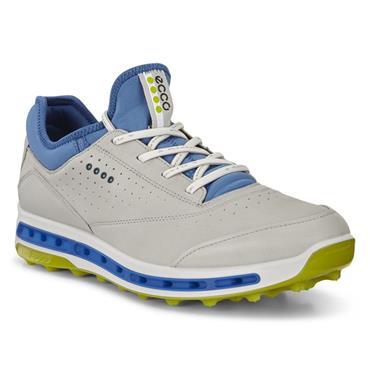 Ecco Gents Cool Gore-Tex Pro Golf Shoes Concrete - Kiwi