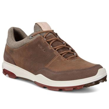 Ecco Gents BIOM Hybrid 3 Waterproof GORE-TEX® Golf Shoes Camel
