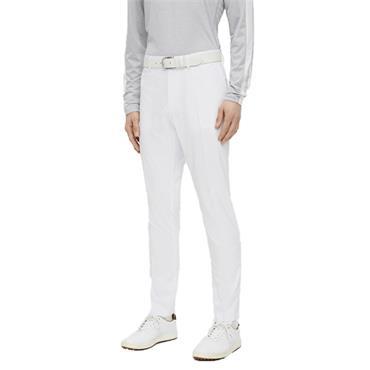 J.Lindeberg Gents Elof Tight Fit Light Poly Pants White