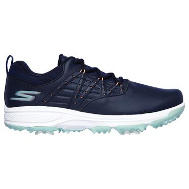Skechers Ladies Go Golf Pro 2 Shoes Navy - Turquiose