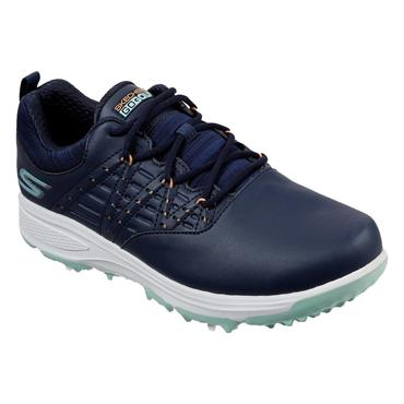 Skechers Ladies Go Golf Pro 2 Shoes Navy - Turquiose