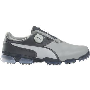 Puma Gents TT Ignite Disc Shoes Grey - Violet