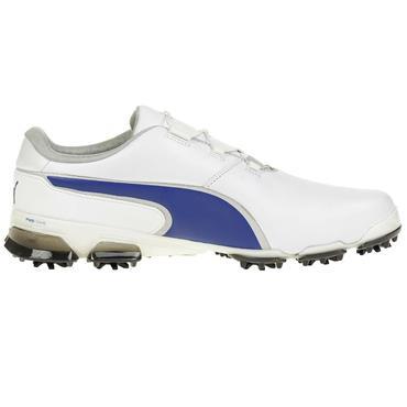 Puma Gents TT Ignite Disc Shoes White - Blue