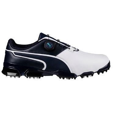Puma Gents TT Ignite Disc Shoes White - Peacoat