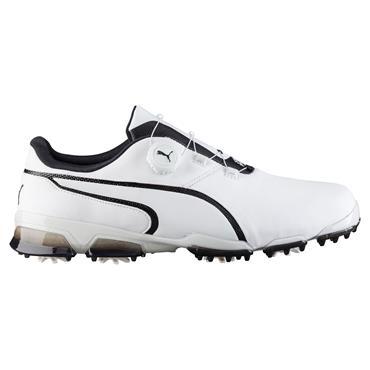 Puma Gents TT Ignite Disc Shoes White - Black