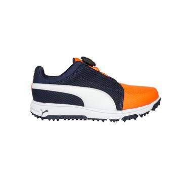 Puma Junior Grip Sport Disc Golf Shoes Peacoat - White
