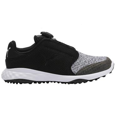 Puma Junior Grip Fusion Shoes Black - Quarry