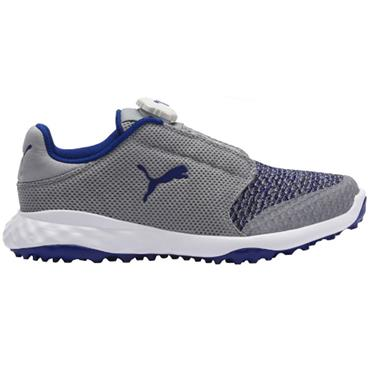 Puma Junior Grip Fusion Shoes Quarry - Surf the Web