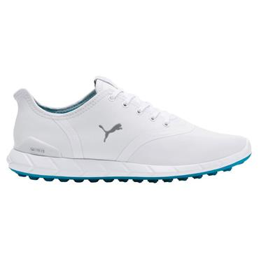 Puma Ladies Ignite Statement Low Shoes White - Quarry