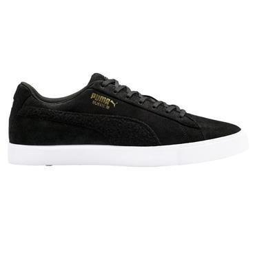 Puma Gents Suede G Patch Shoes Black