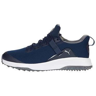 Puma Gents Fusion Evo Golf Shoes Navy - Grey