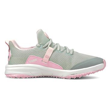 Puma Junior Grip Fusion Evo Shoes Grey - Pink