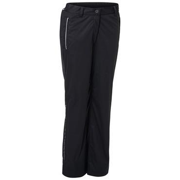 Abacus Ladies Swinley Short Rain Trousers Black