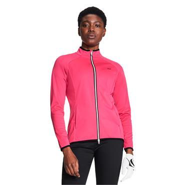 Rohnisch Ladies Hybrid Jacket Raspberry