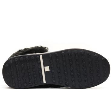 DUCA DEL COSMA Ladies Palazzo Boots Black
