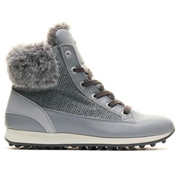 DUCA DEL COSMA Ladies Lascala Boots Grey Tweed