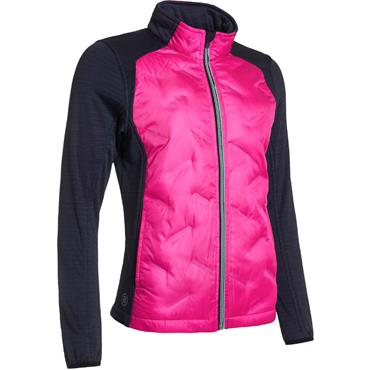 Abacus Ladies Dunes Hybrid Jacket Pink