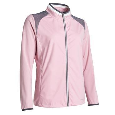 Abacus Ladies Navan Softshell Hybrid Jacket Rosebud (431)