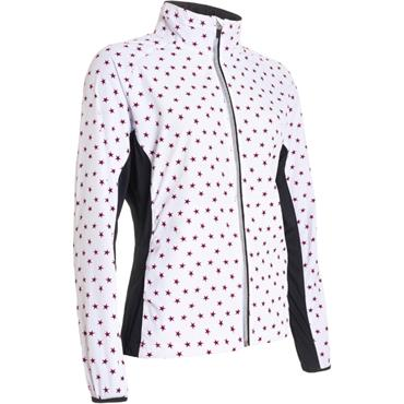 Abacus Ladies Formby Stretch Wind Jacket Black Star