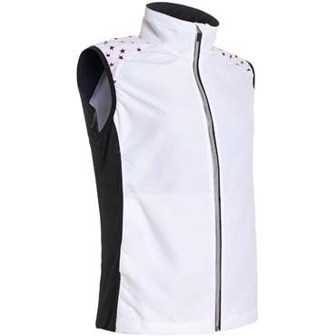 Abacus Ladies Formby Stretch Windvest Black Star