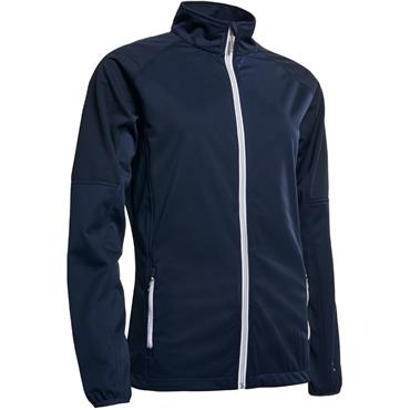 Abacus Ladies Arden Softshell Jacket Navy