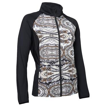 Abacus Ladies Troon Hybrid Jacket Paisley