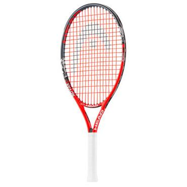 "Head Gents Novak Junior 23"" Tennis Racket Navy - Orange - White"