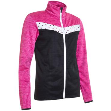 Abacus Ladies Fortrose Fullzip Fleece Black Star