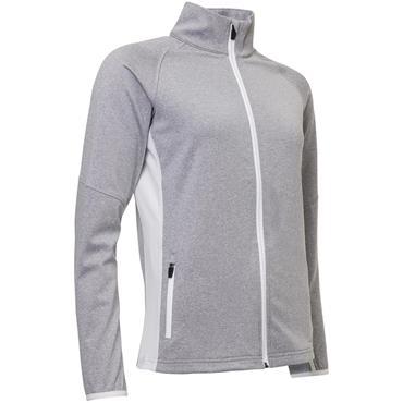 Abacus Ladies Ashby Full Zip Jacket Grey Melange