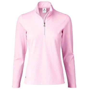 Daily Sports Wear Ladies Honey ½ Zip Neck Top Love