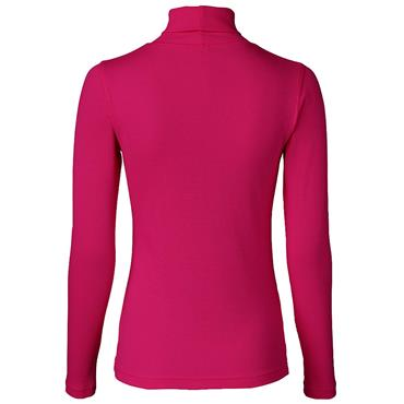 Daily Sports Wear Ladies Maggie Long Sleeve Roll Neck Top Plum