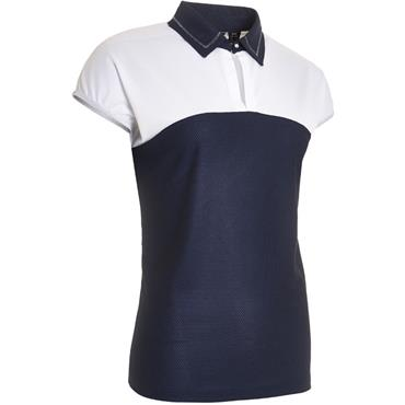 Abacus Ladies Vilna Cupsleeve Top Navy