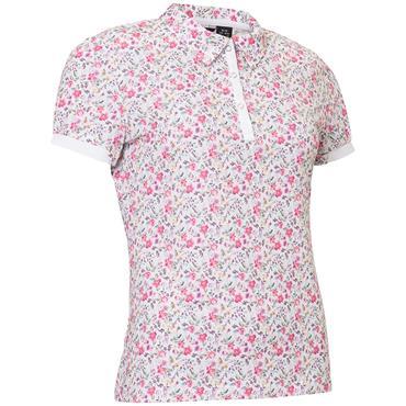 Abacus Ladies Cherry Polo Shirt Flora