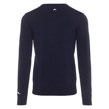 J.Lindeberg Gents Lymann Tour Merino Knitted Sweater Navy
