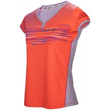 Babolat Junior - Girls Performance Capsleeve Fluo Red