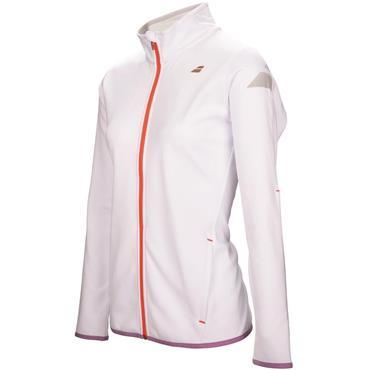Babolat Junior - Girls Performance Tennis Jacket White