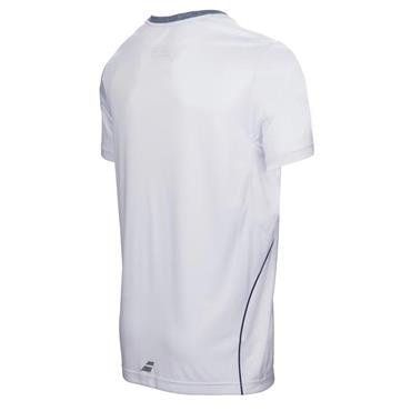 Babolat Gents Crew Neck Shirt White