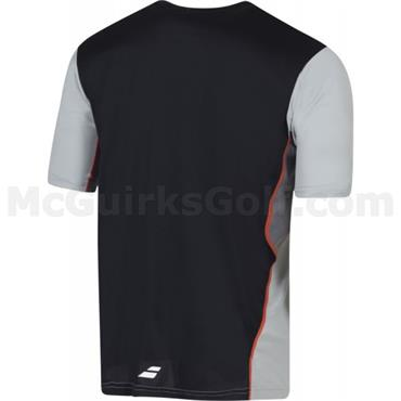 Babolat Gents Performance Crew Neck Shirt Black